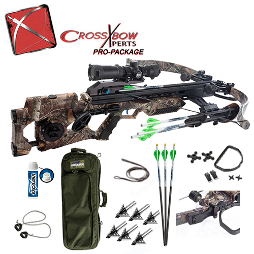 assassin 420 td pro hunting crossbow package