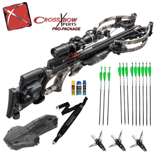 10 point stealth nxt hunting crossbow package