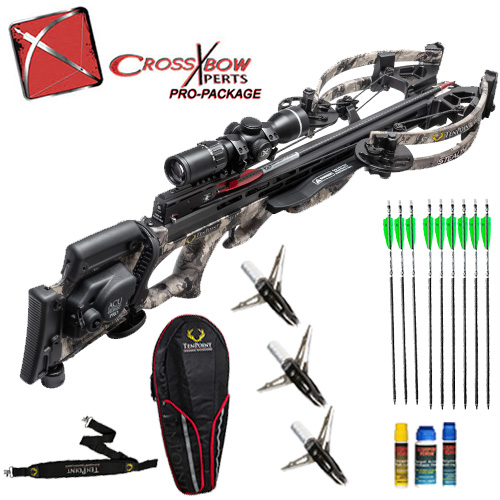 ten point stealth nxt crossbow hunting package