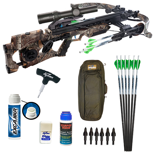 Excalibur Assassin 420 Takedown Shooter Package Custom Package with ExWax, ExSlick, and much more.