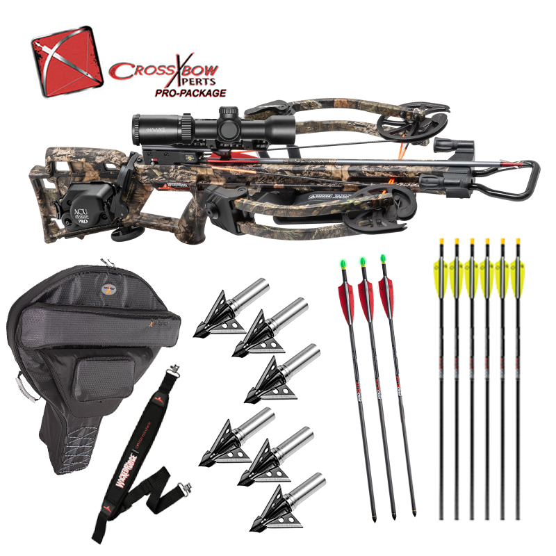 Exclusive Wicked Ridge RDX400 with ACUdraw Pro Unit Installed, Lighted Arrows, Broadheads, Hard Case, and sling!