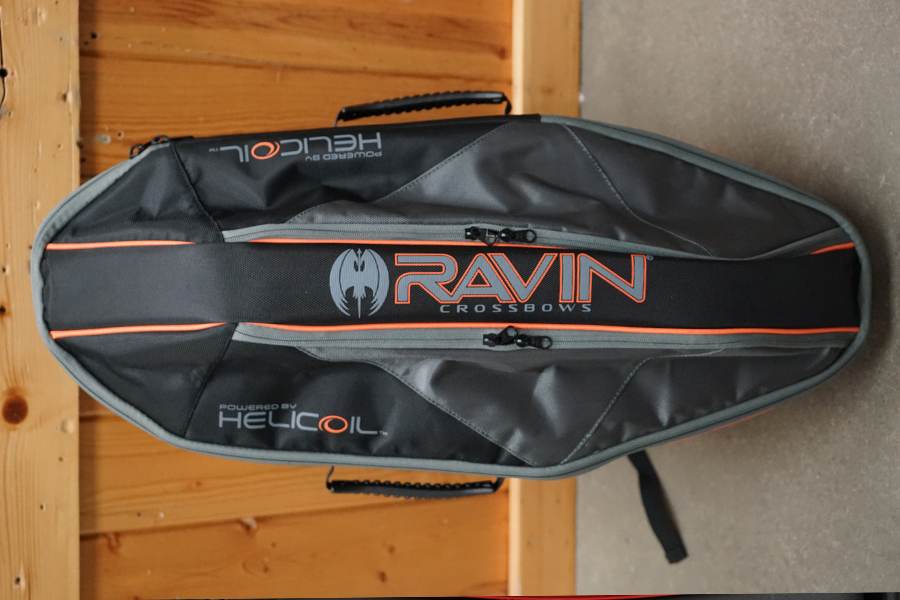 Ravin Soft Case Top View designed specifically for their new compact crossbows.