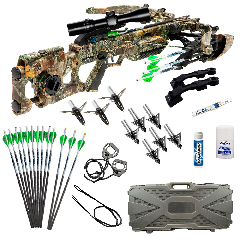 Excalibur Assassin 400 Takedown Fully Assembled Crossbow Package