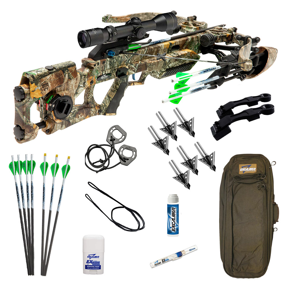 Excalibur Assassin 400 Takedown in Realtree Edge Camo Pro Crossbow Package