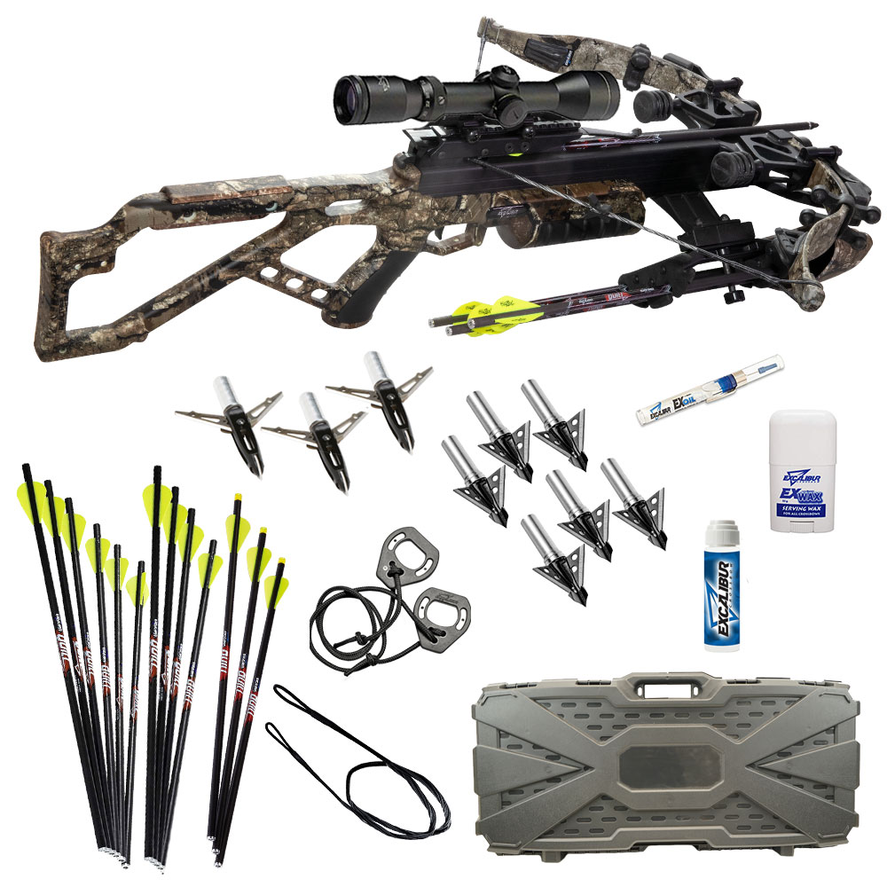 Excalibur Micro 340 Takedown Crossbow package with hard case