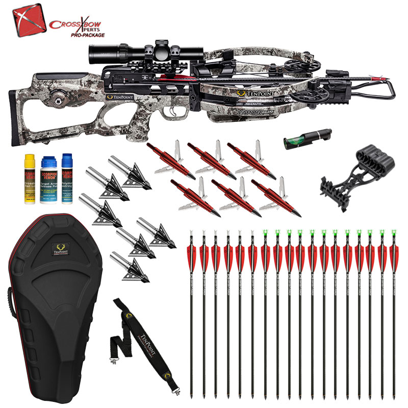 Vapor RS470 Crossbow from Tenpoint Platinum Package ships fully assembled