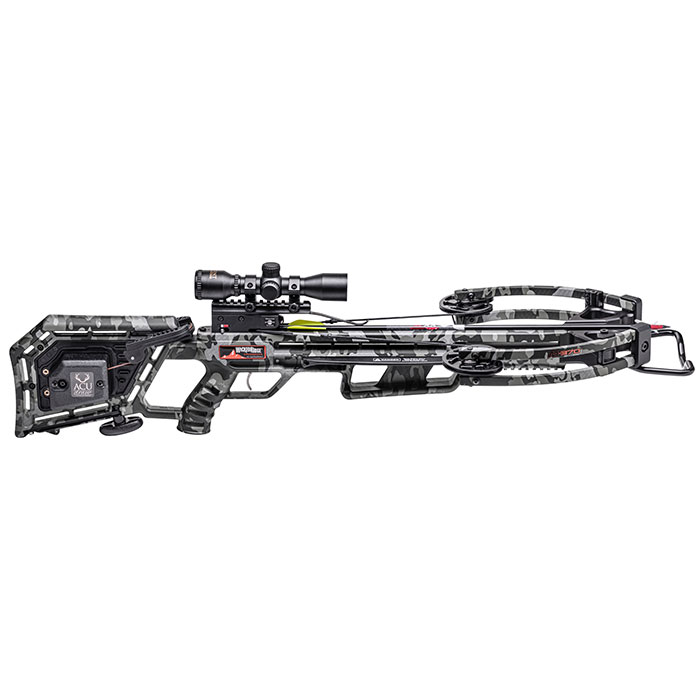 side profile of the m370 crossbow from wicked ridge