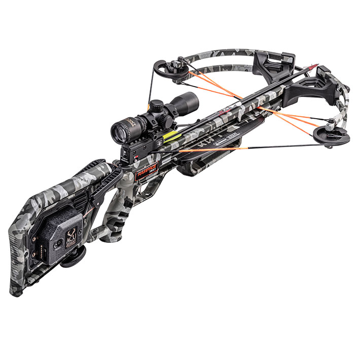 wicked ridge rampage 360 crossbow with acudraw